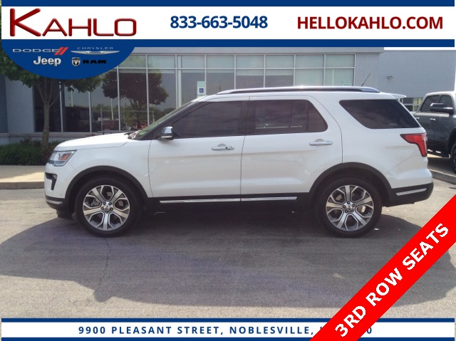 Sensational Pre Owned 2018 Ford Explorer Platinum Dailytribune Chair Design For Home Dailytribuneorg