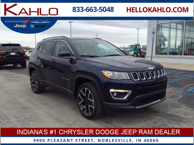 Jeep Dealership Indianapolis >> New 2019 Jeep Compass Limited Sport Utility In Noblesville Near