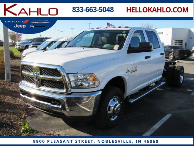 New 2018 RAM 3500 Chis Cab Tradesman Crew Cab in Noblesville ...